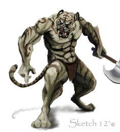 tiger warriors   Tiger Warrior by ~Nightenscythe on deviantART