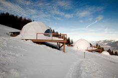Whitepod Resort in der Schweiz ecofriendly luxury