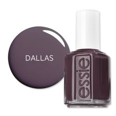 America's Most Wanted Nail Polish  Dallas, TX: Charcoal:   According to Bliss Spa, Essie's Smokin' Hot is a favorite in the Big D. $8; <a href=