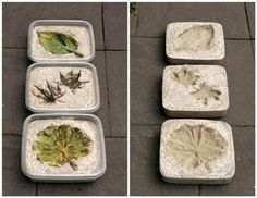 DIY Concrete Stepping Stones | Shelterness
