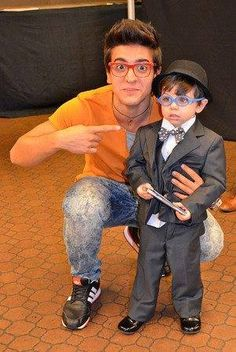 Piero with Mini Piero