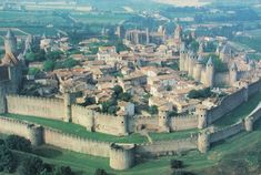 Cities of the World: Carcassonne (France).. must see while in Europe!