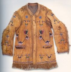 Buffalo Bill's coat, made by Sioux Indians c. 1890.