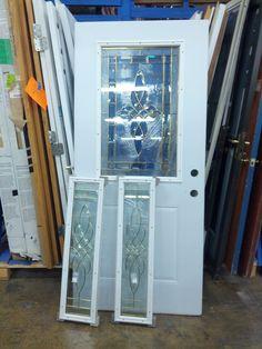 Exterior Door - $70 w matching side lights