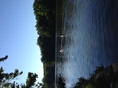 Kayaking on Audubon Lake at Audubon State Park in Henderson, Ky
