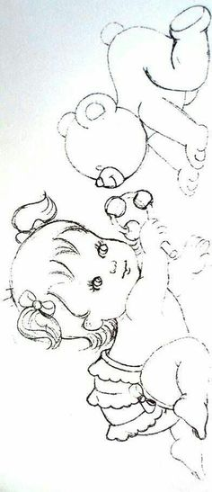 Pintura em tecido | riscos | para bebês
