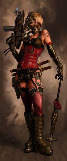 #Harley #Quinn #Fan #Art. (Daphne's Undertaking) By: Raven Mimura.