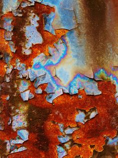 Rust, C. Abstract Photography, Fine Art Photography, Rust Paint, Rust In Peace, Peeling Paint, Art Abstrait, Beautiful Textures, Color Shapes, Rust Color