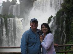 All wet at Iguasu Falls