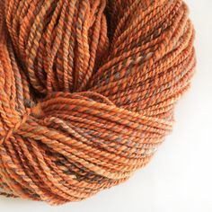Handspun Yarn Kent Romney  Copper Twist  200g  by Artyfibres