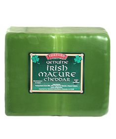 Tuxford Genuine Irish Mature Cheddar  This medium-bodied cheddar has a subtle nutty flavor and a rich, creamy texture that melts in your mouth. It tastes great solo, in a sandwich, with fruit, or in this Cheddar and Beer Soup.