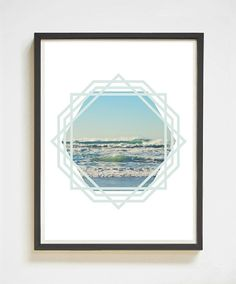 Does your heart live at the beach? This ones for you! A gorgeous color photograph of the beautiful ocean waves off of the Oregon Coast. This Pacific Ocean printable wall art is the perfect way to bring the beach with you wherever you call home! Love the look of this one? You'll like these, too: http://etsy.me/2fsEUWC   Pacific Ocean | Oregon Coast | Printable Art | Instant Download | Beach Photography | Ocean Print | Geometric Print | Apartment Decor