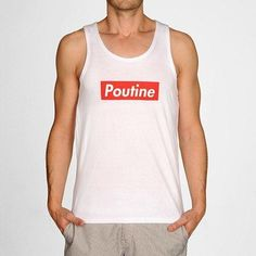 Apparel and T-Shirts inspired by the city of Montreal! Of Montreal, Athletic Tank Tops, Tank Man, Poutine, Mens Tops, T Shirt, Collection, Women, Fashion