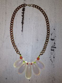 Neon Opalite Necklace