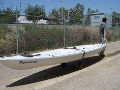 TMS CART-CANOE/KAYAK-KY001 New Jon Boat Kayak Canoe Carrier Dolly Trailer Tote Trolley Transport Cart Wheel Reviews - OMJ Outdoors