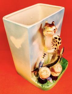 RETRO! Giraffe Zoo Circus Jungle Samson Baby Vintage Planter 1950s Kitsch Relpo | eBay