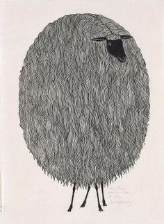 lovely sheep. fiberfarm/blog