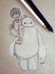 Hiro & Baymax from Disney's Big Hero 6