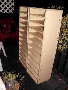 New Paper storage shelves - Scrapbook.com