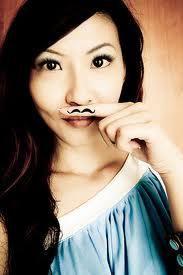Mustache girls