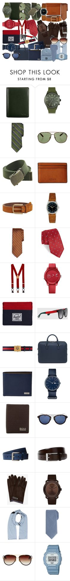 """""""Men's Colour Trend"""" by grae-hartmann on Polyvore featuring Tumi, Forzieri, Brooks Brothers, Tom Ford, Coach, MANGO, Throne, Nordstrom, Tommy Hilfiger and Herschel Supply Co."""