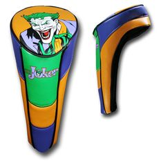 Do you consider yourself the Joker of the golf course? Like this Joker Performance Golf Club Cover. Golf Head Covers, Golf Humor, Golf Tips, Golf Clubs, Funny Pictures, Joker, Humor Birthday, Awesome Stuff, Dc Comics