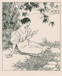 """A few of the paintings of Fernando Amorsolo y Cueto the """"Grand Old Man of Philippine Art"""" is believed to have created over work of art. Filipino Art, Filipino Culture, Manila, Filipino Fashion, Philippine Art, Philippines Culture, Painting Tattoo, India Ink, Historical Art"""