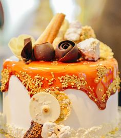 Panna Cotta, Wedding Cakes, Cheese, Ethnic Recipes, Food, Dulce De Leche, Meal, Wedding Pie Table, Eten