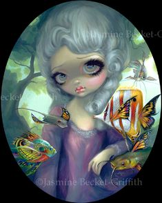 Poissons Volants: Le Portrait - Strangeling: The Art of Jasmine Becket-Griffith
