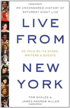 SNL's history, on top of my must read list as of now.
