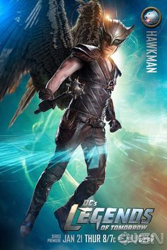 "DC's Legends of Tomorrow S1 Falk Hentschel as ""Carter Hall/Hawkman"""