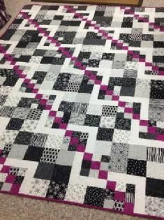 topsy turvy nine patch quilt pattern - variation | Quilts ... : easy twin quilt pattern - Adamdwight.com