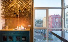 Фотография:  в стиле , Лофт, Квартира, Проект недели, Киев, гамак в квартире, новостройка – фото на InMyRoom.ru
