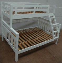 Fort Trio Bunk Bed | Single over Double Bunks | Best In Beds