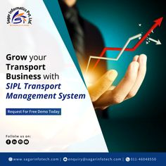 Grow your audience and also revenue in the Transport Business market with our efficient Transport Management Software. For more details contact us @ +91-9311746788, +91-9311133772, or visit here: www.sagarinfotech.com  #CloudbasedSoftware #Logistics #Transportation #Improve #Operations #TransportationManagementSoftware #TransportSoftware #LogisticsSoftware #OnlineSoftware #TransportManagementSoftware #LogisticsManagementSoftware Cloud Based, Supply Chain, Business Marketing, Communication, Digital Marketing, Transportation, Software, Management, How To Plan
