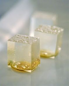 gin and tonic jello shots- for those looking to have a little more fun with their drinks..... or for your next girls night out.