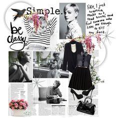 It's simple: Be classy!