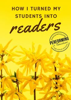 How I Turned My Students into Readers
