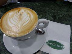 Un cappuccino fatto con amore...