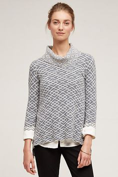 Cowled Galena Pullover - anthropologie.com