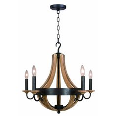 over piano...over dining table Hampton Bay Talo 5-Light Driftwood Chandelier-27215 at The Home Depot