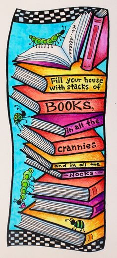 Free downloadble coloring bookmarks for National Read Across America Day | illustrated by @mariebrowning and available at @tombowusa