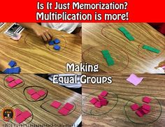 eaching multiplication is just more than memorizing the multiplication facts. The Common Core Standards for math in Grade 3 state that students must understand the Properties of Multiplication, the relationship between addition and multiplication, use models such as arrays and equal groups just to name a few. In this blog post, I explain how I use both direct instruction and a lesson study approach to teaching multiplication. Come read about it on my blog!