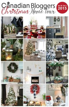 2015-Christmas-Canadian-Bloggers-Home-Tour 2