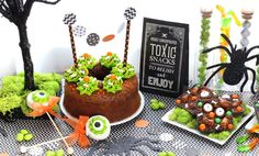 Halloween Party Dessert Display Tips | The Bakers Party Shop