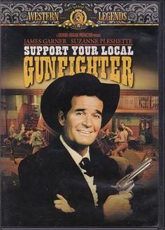 James Garner Support Your Local Gunfighter DVD Suzanne Pleshette Western Suzanne Pleshette, Metro Goldwyn Mayer, Movie Quotes, Westerns, Comedy, Cinema, Actors, Film, Celebrities