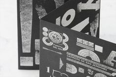 Typographic wonder using 8 faces: wedding invitation was manually letterpressed using lead and wooden type  in three different languages. #Letterpress