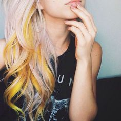 DIY Hair: 15 Orange and Yellow Hair Color Ideas WITH DYES USED TO GET THEM …