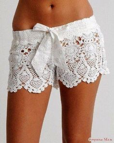 Diy Crochet Lace Short Free Pattern - 10 Free Crochet Patterns to Get in Style This Summer