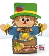 Scarecrow Boy Harvest Treat Box---YOU CAN PURCHASE